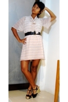 Charles & Keith shoes - 2nd Hand belt - 2nd Hand dress