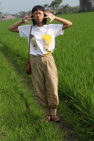 wet rice field . ahahaha