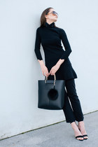 Neoandlime accessories - Zara dress - Zara bag - Zara sandals - H&M pants