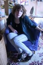 Uniqlo - aa - Urban Outfitters jeans - Faith