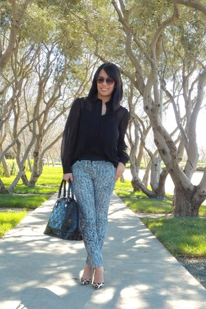 black ann taylor jacket - black Club Monaco shirt