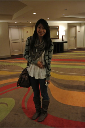 gifted seasonal Forever 21 cardigan - boots boutique shoes