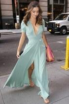 aquamarine maxi dress dress
