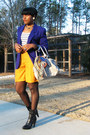 Mustard-thrifted-vintage-shorts-black-boutique-9-boots