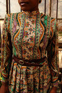 Tan-paisley-thrifted-vintage-dress