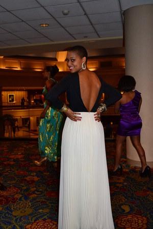 black KNT dress