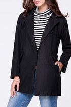 black coats Fashionmia coat - elegant coats Fashionmia coat