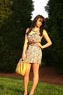 Cotton-express-dress-mustard-leather-bag-forever-21-bag-aquamarine-forever-2