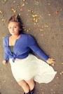 Cardigan-skirt-bandeau-bra