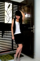 Indiana vest - Pepper Plus top - My Room skirt - DMK shoes