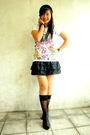 Black-stockings-black-rossanna-pena-black-white-