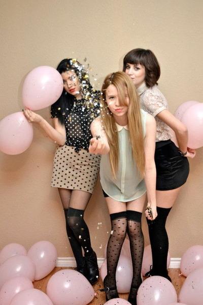 polka dots Forever 21 skirt