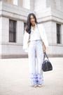 Zara-blazer-marcs-bag-thrifted-vintage-heels-style-stalker-pants