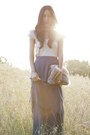 Beige-the-eleventh-hour-top-charcoal-gray-gary-pepper-vintage-skirt-light-br