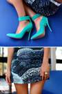 Aquamarine-jennifer-hawkins-for-siren-heels-navy-stolen-girlfriends-club-dress