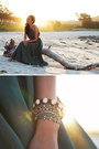 Teal-chan-luu-bracelet-black-tresor-paris-crystal-bracelet
