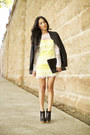 Black-charlotte-olympia-boots-yellow-sass-and-bide-dress