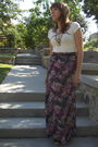 Beige-serena-ryder-t-shirt-pink-target-skirt-black-chinese-laundry-shoes-g