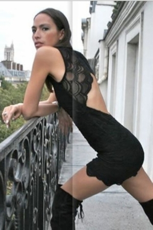black Nightcap clothing dress