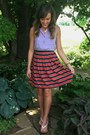 Light-purple-forever-21-top-red-j-crew-skirt-white-forever-21-sandals