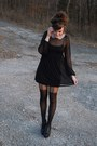 Black-topshop-dress-black-forever21-tights-black-headband-forever21-accessor