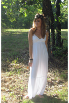 white american eagle American Eagle dress - black homemade accessories