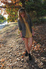 Charcoal-gray-thrifted-blazer-black-litas-jeffrey-campbell-boots