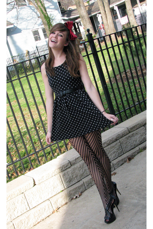 Forever21 accessories - dress - stockings - shoes - eVanity jacket