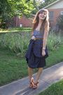 Beige-forever21-accessories-gray-hollister-top-blue-thrifted-skirt-brown-t