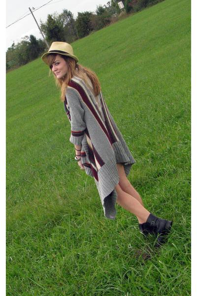 Walmart hat - hollister sweater - Target top - Goodwill belt - Forever21 shorts