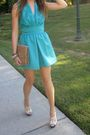Blue-vintage-dress-white-jessica-simpson-shoes-silver-apricot-lane-earrings