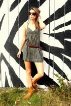 Shoe depot boots - Forever 21 dress
