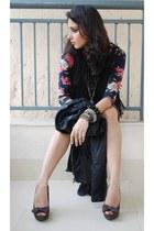 knit Forever 21 dress - Zara pumps
