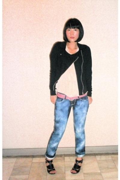 random in bangkok jacket - Maud top - Salad belt - F&H jeans - Anthem shoes