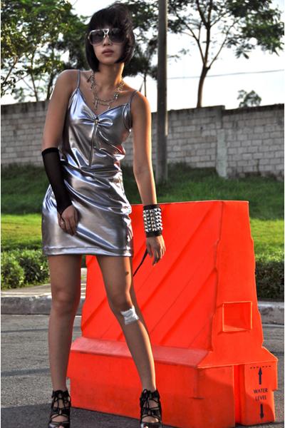 Glitterati dress - Zara sunglasses - Cuteture accessories - zoo shoes
