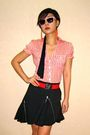 Orange-h-m-blouse-orange-h-m-sunglasses-orange-forever-21-earrings-red-fcu