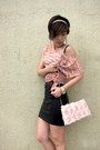 Light-pink-h-m-purse-salmon-topshop-heels-black-mini-h-m-skirt-black-ccors