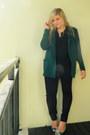 Green-oversized-mr-price-blazer-black-cotton-on-shirt-beige-zara-bag
