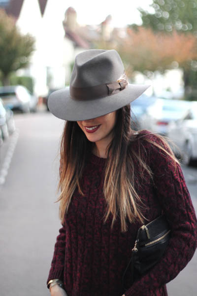 heather gray felt fedora hat akubra hat - crimson mulberry jeans SANDRO  jeans cdf68764ccc