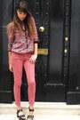 Pink-zara-pants