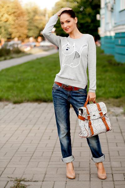 boyfriend jeans Miss Sixty jeans - Cortefiel heels
