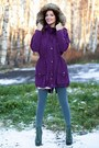 Army-green-lita-spike-jeffrey-campbell-boots-purple-parka-oversized-asos-coat