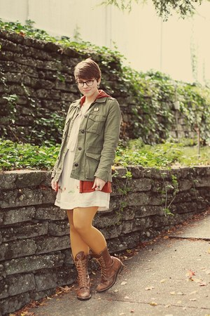 the gap jacket - flea market boots
