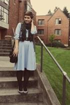 vintage dress - thrifted heels