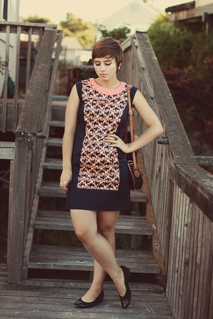Webster dress - vintage purse - vintage heels