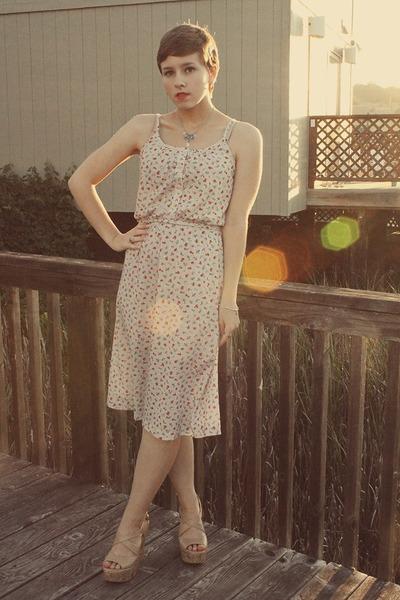 Goodwill dress - Forever 21 wedges