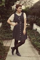 ann taylor dress - vintage top