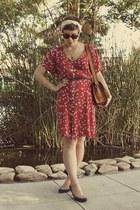 Goodwill dress - thrifted heels
