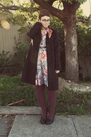 vintage dress - Target coat