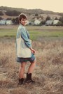 White-mountain-boots-target-dress-j-crew-shirt